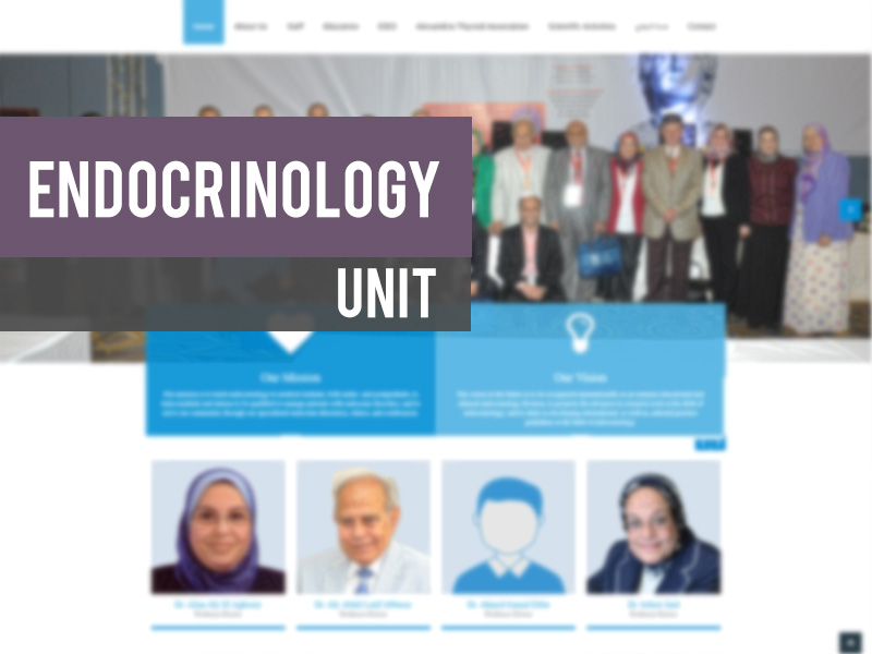 ENDOCRINOLOGY UNIT