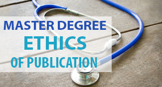 Ethics of Publication Spring course 2017