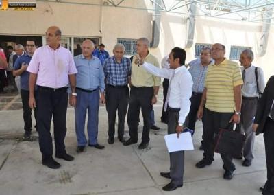 زيارة قسم الجراحة لمستشفى برج العرب